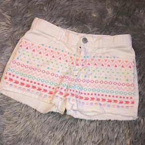 Children's Place Girls Aztec Shorts